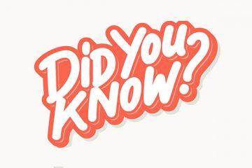 קטע קריאה באנגלית לתלמידי כיתות יא-יב ?Did You Know